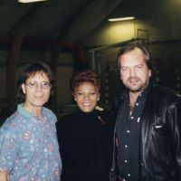 Tv optraeden med Cliff Richard og Dionne Warwick
